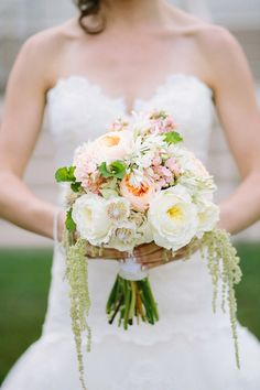 Beautiful Bridal Bouquet  ////////// {Life in Bloom}