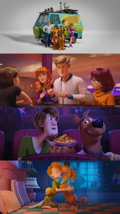 First images from the new animated Scooby-Doo film SCOOB! via Fandango Movie 21, Kid Movies, Family Movies, Disney Movies, Disney Pixar, Desenho Do Scooby Doo, Garfield Wallpaper, Cartoon Wallpaper, Spiderman Images