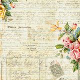 Vintage Text Background Floral Frame Stock Photos, Images, & Pictures - 38,036 Images