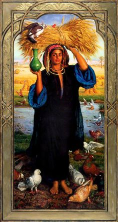 The Athenaeum - Afterglow in Egypt (William Holman Hunt - )
