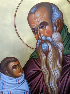 Full of Grace and Truth: Paraklesis to St. Stylianos of Paphlagonia Church Icon, Russian Icons, Byzantine Art, Orthodox Icons, Style Icons, Disney Characters, Fictional Characters, Saints, Religion