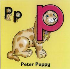 Letterland poor peter    Class of 2007 - Carpe Diem First Years