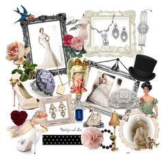 I wish... on #polyvore Regina B. vintage inspire bracelet and set combs