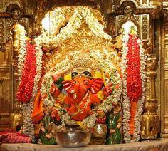 #SiddhivinayakTemple - Mumbai -Shri Radhe Guru Maa Charitable Trust #HinduDeity #HinduGod #Hinduism #LordGanesha
