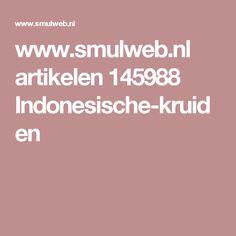 www.smulweb.nl artikelen 145988 Indonesische-kruiden