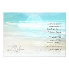 #wedding #responsecards - #Beach White Starfish Elegant Summer Invitations