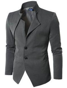 Doublju Mens Unbalanced Blazer Jacket GRAY Asian Asian M(JUK01) Doublju, http://www.amazon.com/dp/B006WFP9EO/ref=cm_sw_r_pi_dp_np3MrbCF8B1749B0
