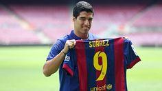 La presentació de Luis Suárez com a nou jugador del Barça | FC Barcelona
