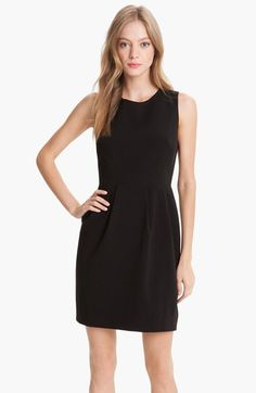 kate spade new york 'tiff' pleated sheath dress available at #Nordstrom. Perfect LBD
