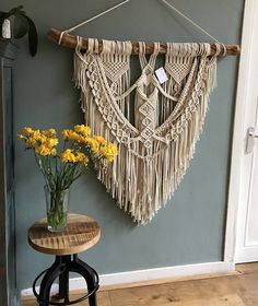 Modern macrame wall hangings can brighten up any room and give your space a sophisticated look without losing the coziness.
