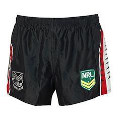 58bbd62d58a9 Rebel Sport - ISC Mens NRL New Zealand Warriors Supporters Short Nrl  Warriors