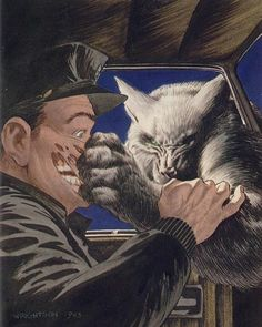Bernie Wrightson / Stephen King - Cycle of the Werewolf Comic Book Artists, Comic Books Art, Comic Art, Horror Comics, Horror Art, Horror Posters, Apocalypse, Of Wolf And Man, Bernie Wrightson