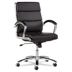 Alera Neratoli Mid-Back Swivel/Tilt Chair, Black Soft-Touch Leather Alera http://www.amazon.com/dp/B005SGICMY/ref=cm_sw_r_pi_dp_fSB7wb0CY4DVS