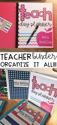 Teacher Binder, $ editable updates for life