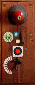 菊畑茂久馬《ルーレット》 1964年 展示/近現代美術