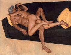 Juxtapoz Magazine - Paintings by Riccardo Mannelli