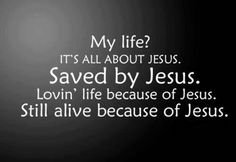 without Jesus I have no life