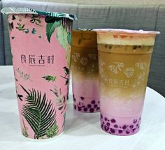Bubble Drink, Bubble Milk Tea, Bubble Tea Supplies, Tea Restaurant, Boba Drink, Tea Brands, Tea Packaging, Smoothie Drinks, Aesthetic Food