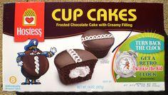 New Retro Hostess Cup Cakes Box Twinkie Kid Clock Cupcake Boxes, Box Cake, Hostess Cupcakes, Clock For Kids, Cup Cakes, Chocolate Cake, Retro, Chicolate Cake, Chocolate Cobbler