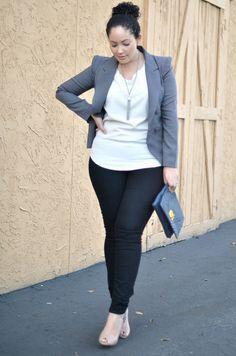 plus business wear - smart casual