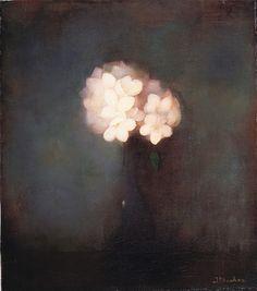 Jan Mankes   Vaas met jasmijn (1913)