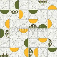 Tangy Repeating Pattern, designed by Alexandra Bolzer    High-quality Vector Pattern from patterndesigns.com