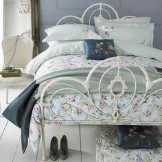 bedframe and spread