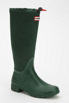 Hunter Original Canvas Panel Rain Boot - Urban Outfitters