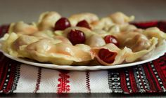 Ukrainian Cherry Dumplings, or Vareniki by kunitsa, via Flickr