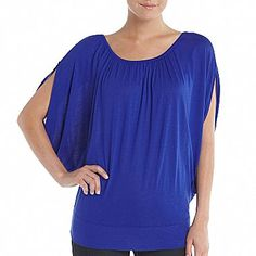 MNG by Mango® Volume Sleeve Top - jcpenney