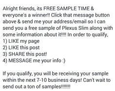Free sample time
