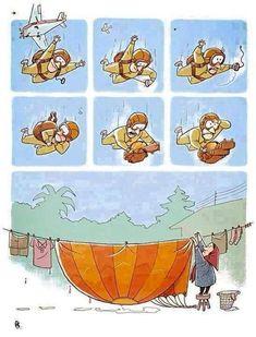 ¿Y mi paracaídas?