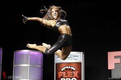 Oksana Grishina, second prize at the 2012 Flex Pro, and my idol.