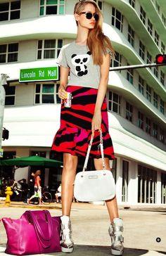 Silver -DKNY - Editorial Cosmopolitan