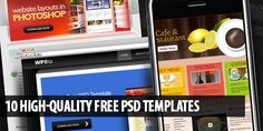 10 High-Quality Free PSD Templates