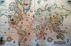 Sabia que dois terços do mundo foram descobertos pelos Portugueses?! Em menos de 100 anos mudaram o mundo. Materializaram o sonho e modificaram a noção de distância. Foram os primeiros cidadãos do Mundo. E se mais Mundo houvesse lá teriam chegado.