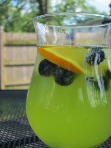 Summer Green Sangria