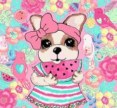 Cute Dog Pictures, Animal Pictures, Dog Background, Decoupage, French Poodles, Puppy Party, Dog Love, Scooby Doo, Pugs