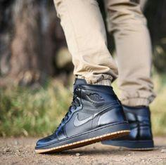 """Air Jordan 1 """"Black/Gum"""""""