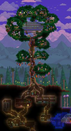 I've seen so many amazing threads showcasing a gallery of someone's build I thought I'd start my own… though they may not be as awesome Terraria Art. Plans Minecraft, Minecraft Posters, Minecraft Drawings, Minecraft Pictures, Minecraft Blueprints, Minecraft Crafts, Terraria House Design, Terraria House Ideas, Minecraft Banner Designs