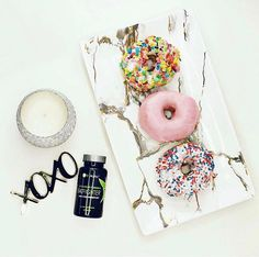 Donut worry, be happy ! It's okay to indulge every once in a while when you have Fat Fighter! #Donuts #BreakfastOfChampions