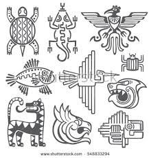 Image result for simple mayan patterns