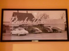 Vintage DD photo at UCF DD in Orlando, love those classic cars