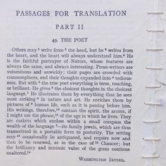 Passages For Translation ( part The Poet Poet, Writer, Faith, How To Make, Sign Writer, Loyalty, Writers