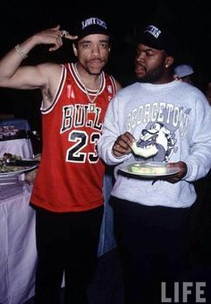 Ice T and Ice Cube. #IceMen
