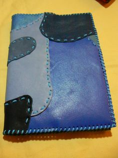 FUNDA EN TONOS AZULES Zip Around Wallet, Cases, Blue Nails