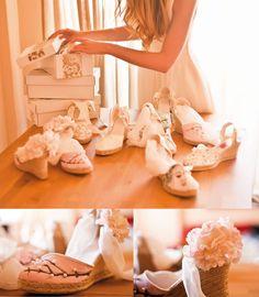 Alpargatas para novias :O