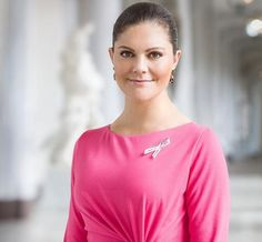 Princess Victoria became the official patron of Pink Ribbon 2017 campaign