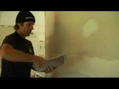 how to spackle basics. He covers bigger jobs, particular joints, but this is really helpful. His feathering method also reduces the need for sanding.