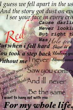 Taylor Swift -Red